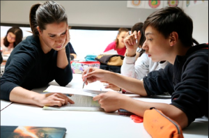 Acompañando a estudiantes para que aprendan y aprueben