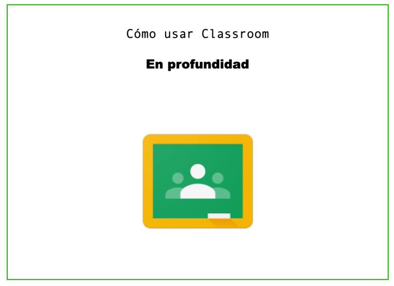taller google classroom
