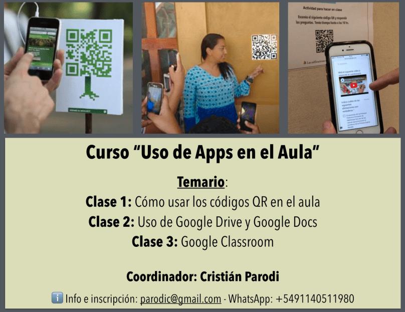 Uso de apps en el aula