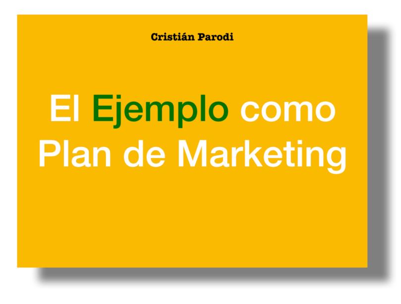 el ejemplo como plan de marketing