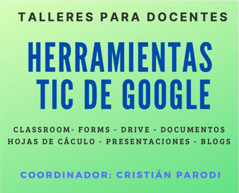 herramientas TIC de Google