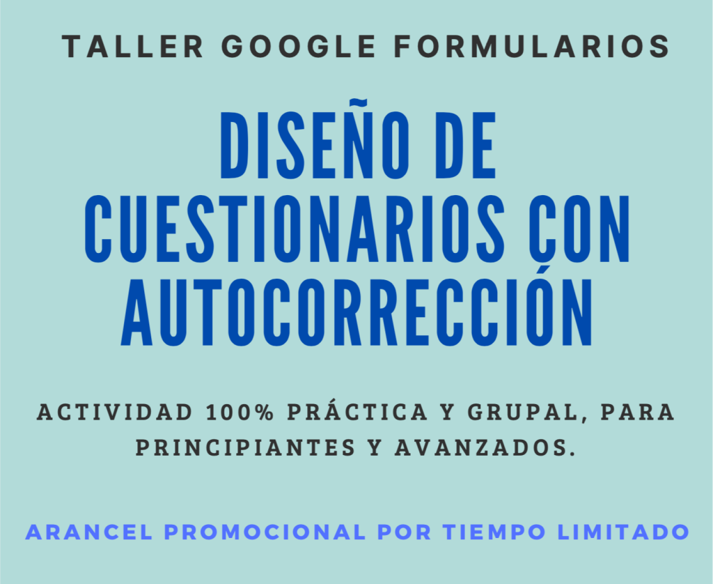 taller Google Formularios