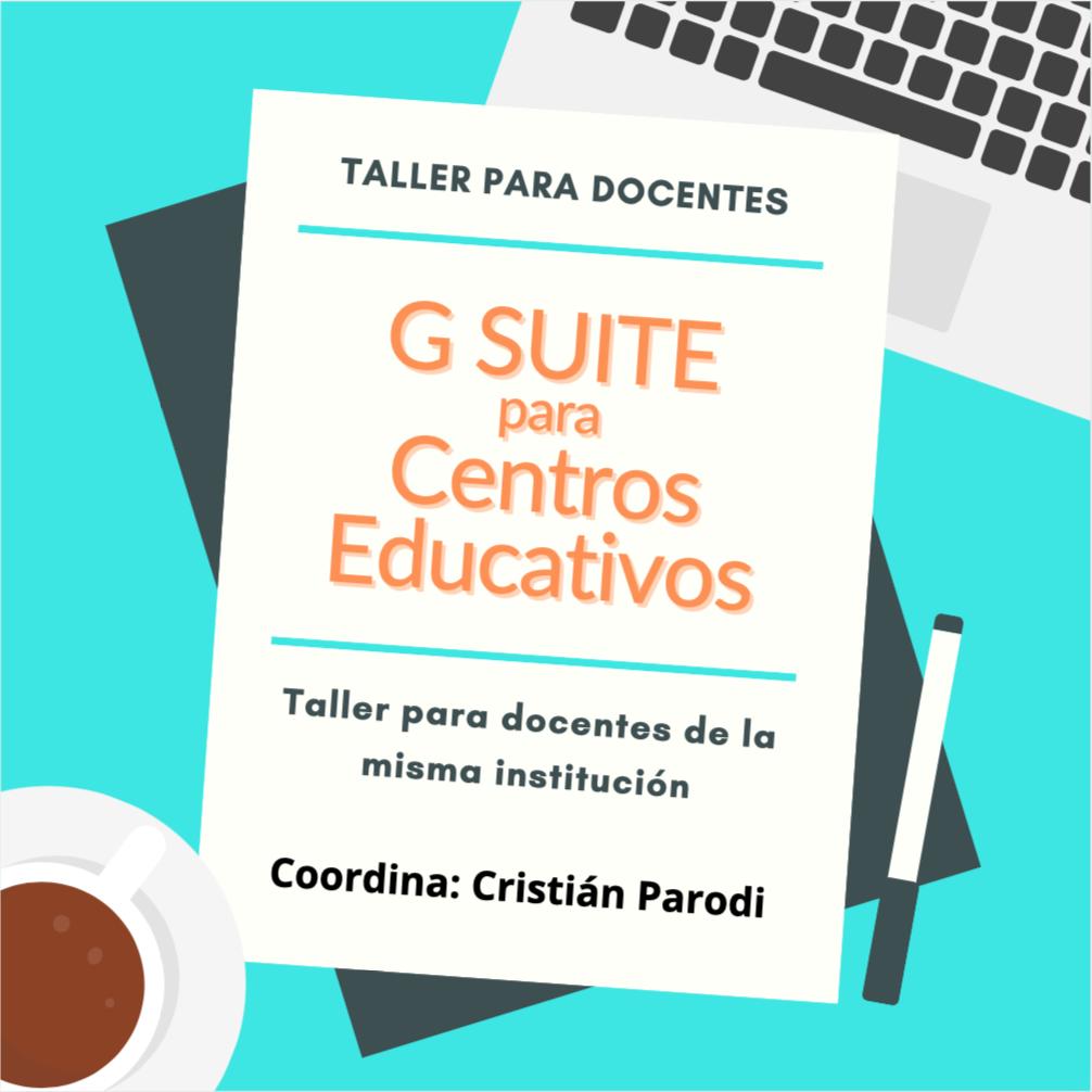 Taller G Suite para Centros Educativos